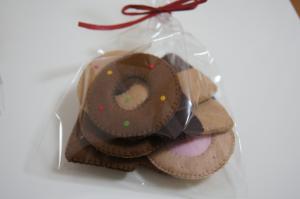 フェルトクッキー