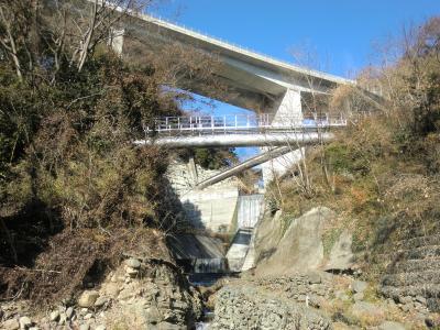 谷津川河口の水管橋