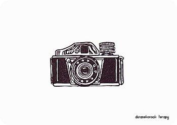 お豆なカメラ 三ツ星ミゼットはんこ