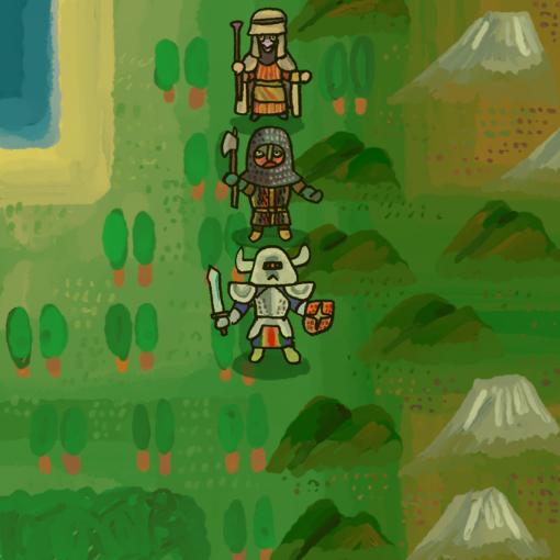 RPG風の絵