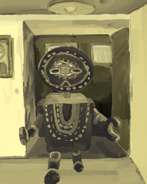 ロボと部屋