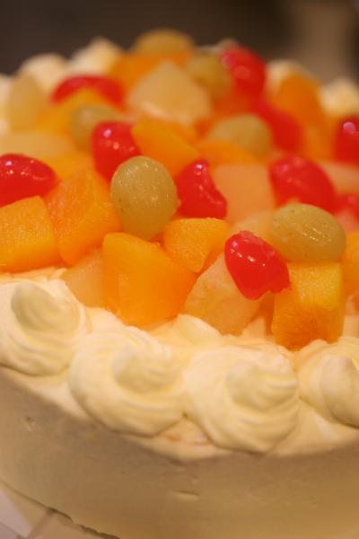 お誕生日ケーキ2011.09