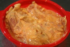 鶏もも肉ヨーグルト煮2
