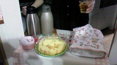 ちゃみぃさんの紅茶とみかすずさんのケーキ