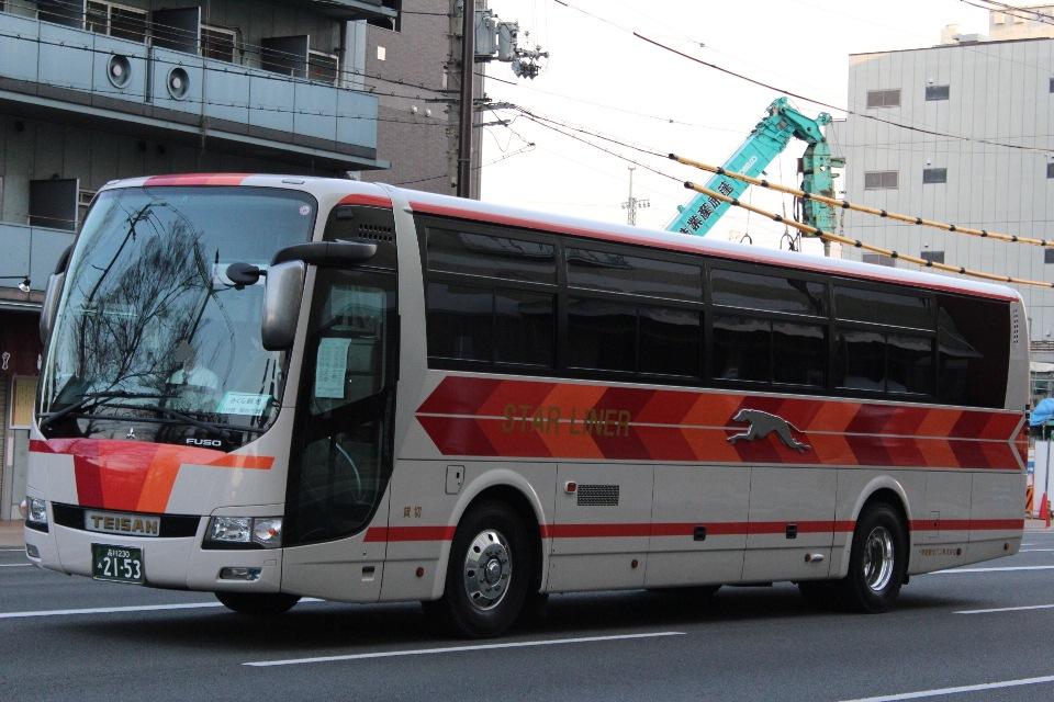 帝産観光バス あ2153