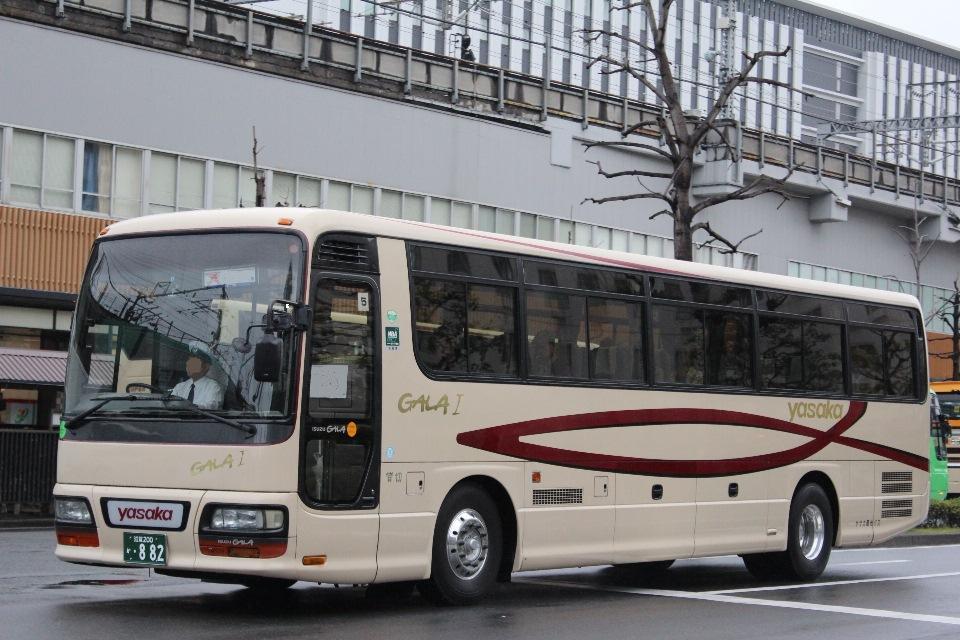 ヤサカ観光バス滋賀 か882