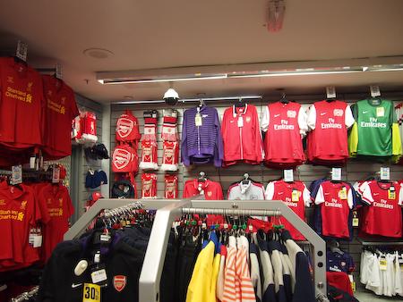 サッカーお店2