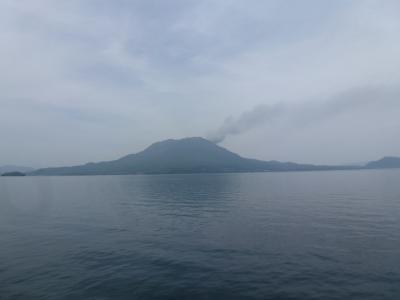 船から見る桜島 2013 5・3