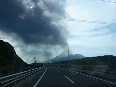 桜島噴火に遭遇 2013 5・3