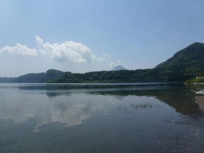 池田湖と開聞岳 2013 5・3