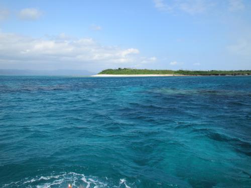 上地島と海