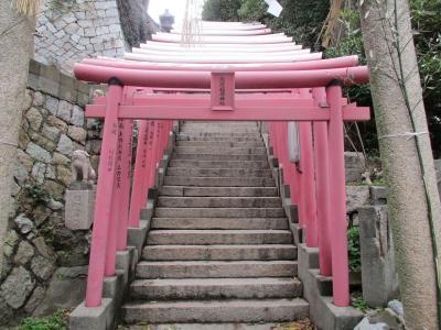 亀山八幡宮東階段