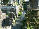 墓地の防草シ-ト