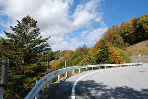 紅葉の山32
