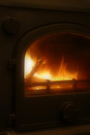 ストーブの火 soft