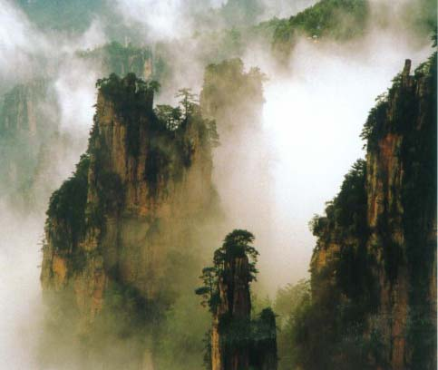 湖南世界遺産「張家界」57201