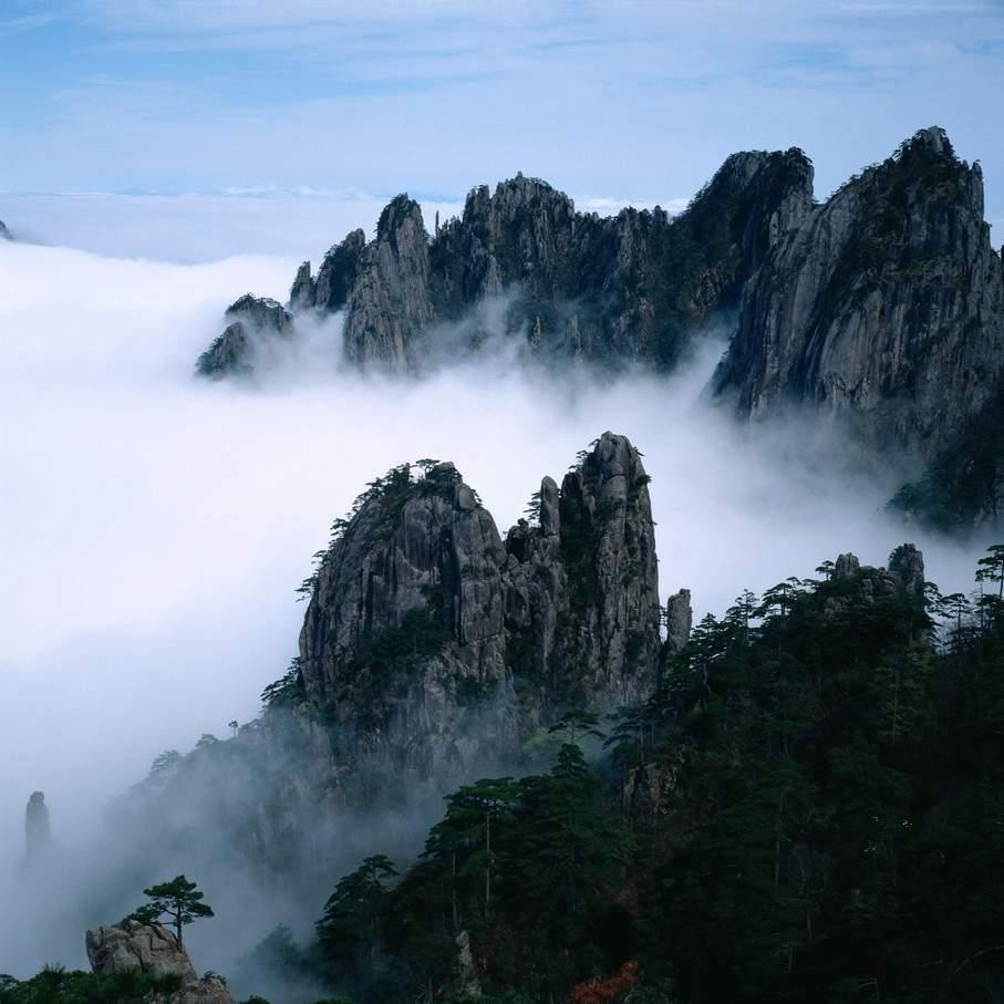 黄山 中国 74b1ff70