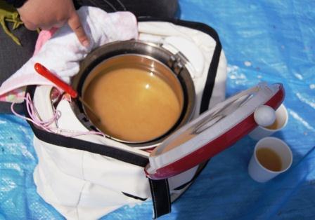 りいさんお手製お味噌汁!