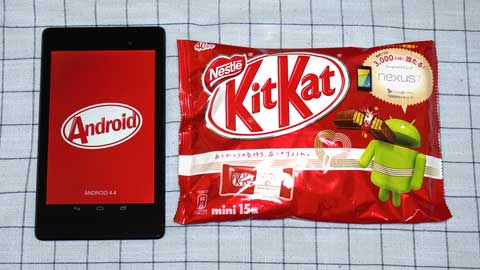Android 4.4 KitKat コラボ