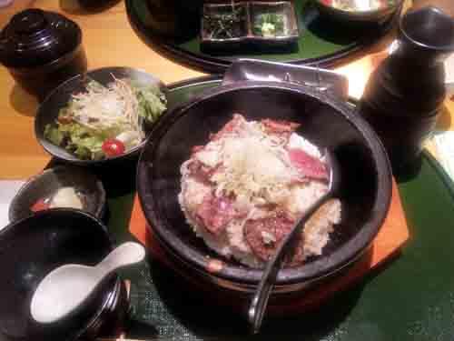 飛騨牛石焼ひつまぶし1