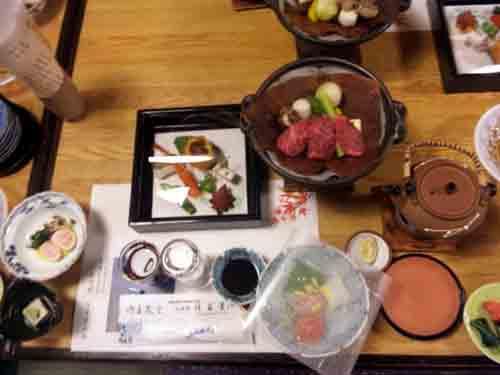 佳留萱山荘料理1