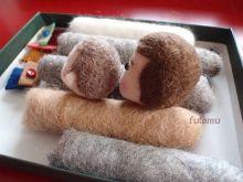 $フトムの羊毛フェルト ‐ Needle Felting of Futomu ‐