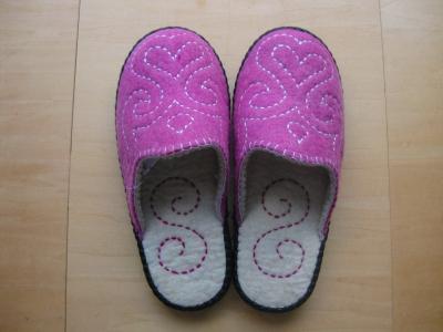 スリッパ女性用ピンク