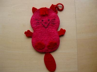 ピンク猫一匹
