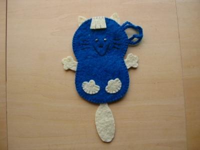 ブルー猫一匹