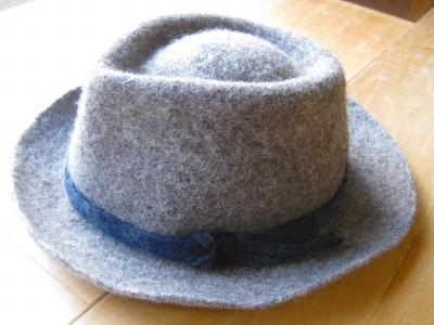 帽子グレー1