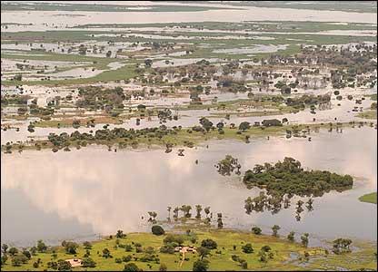 母残日苦大洪水被害核大