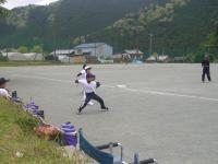 入団式キャッチボール
