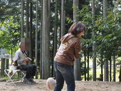 2011.10.10 メリーちゃんの冷たい視線が おばちゃん辛い