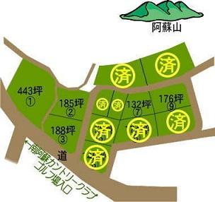 南阿蘇河陰土地区画図