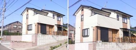 合志市須屋新築一戸建て外観写真
