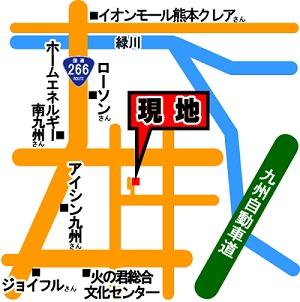 城南町舞原売一戸建案内地図