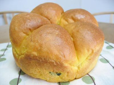 2011 10 01 かぼちゃパン