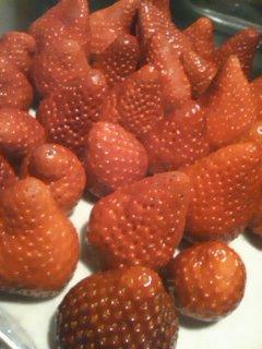 イチゴたくさん