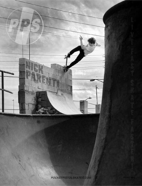 Nick Parenti x Pivot Fakie x San Pedro x Concussion 41 x Pic MRZ