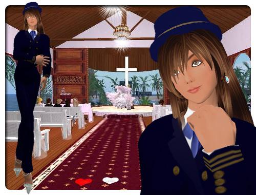 Virtual WeddingのGraphicSocietyグラフィックソサエティプロデュースSL結婚式