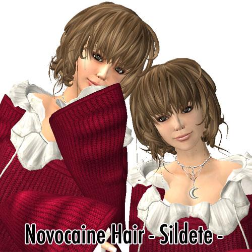Novocaine Hair - Sildete - macaroon