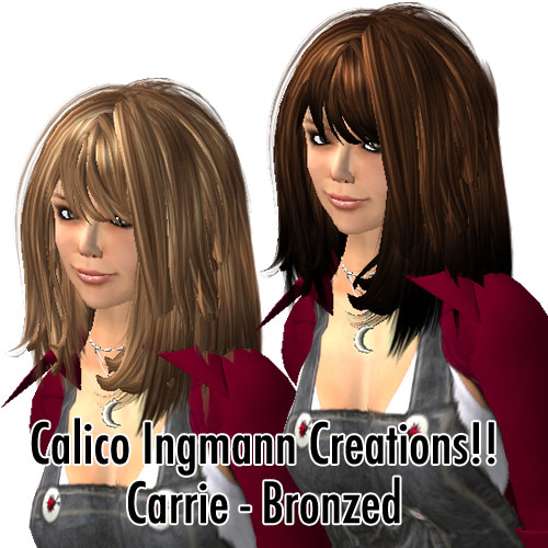Calico Ingmann Creations Carrie - Bronzed