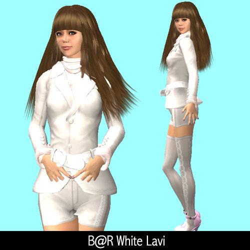 BareRose White Lavi