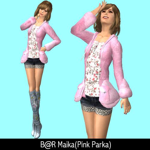 BareRose Maika(pink Parka)