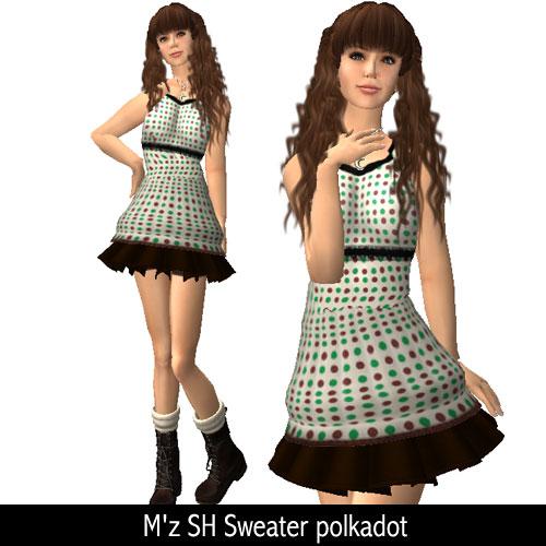 M'z SH Sweater polkadot