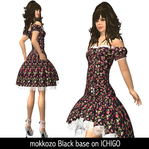 mokkozo Black base on ICHIGO