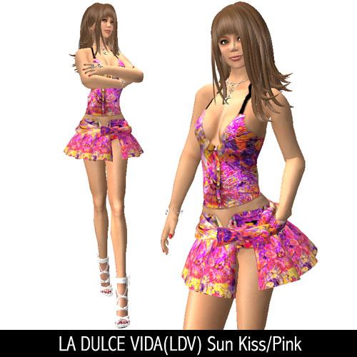 LA DULCE VIDA(LDV) Sun Kiss/Pink