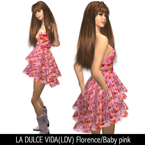 LA DULCE VIDA(LDV) Florence/Baby pink