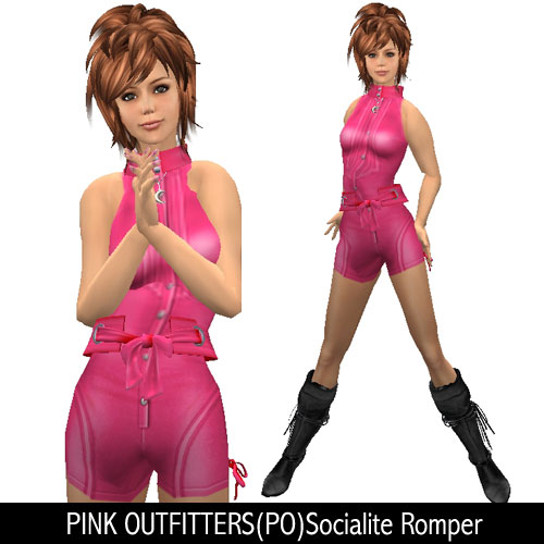 PINK OUTFITTERS(PO)Socialite Romper