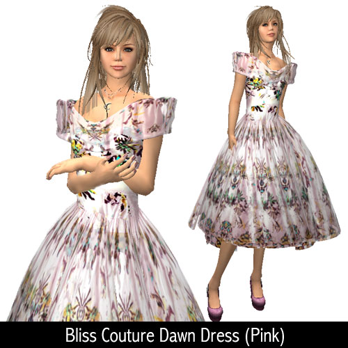 Bliss Couture Dawn Dress (Pink)